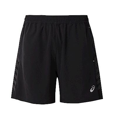 ASICS 男慢跑短褲 2011A402-002