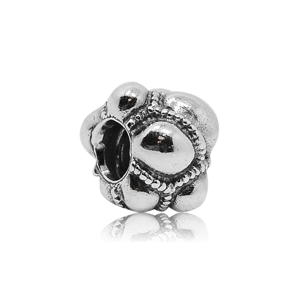Pandora 潘朵拉 拼布魅力 純銀墜飾 串珠