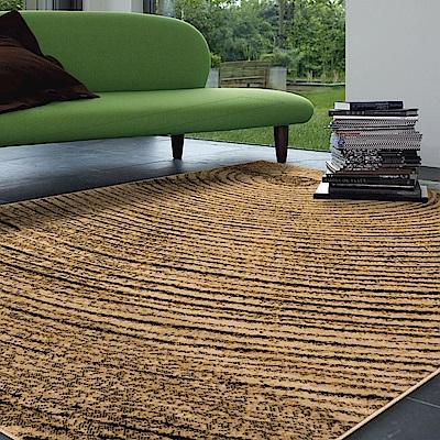 Ambience 比利時Shiraz 時尚地毯-樹輪黃 160x230cm