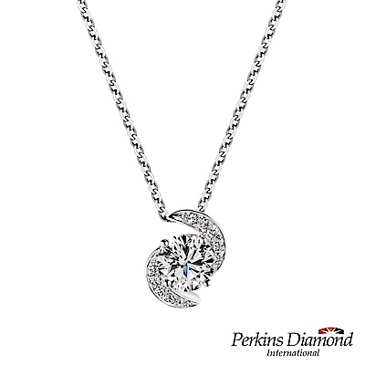 PERKINS 伯金仕-GIA Hug系列 D/VS2 0.30克拉鑽石項鍊