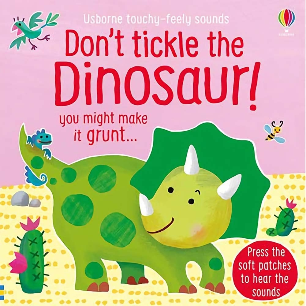 Don't Tickle The Dinosaur! 別對恐龍搔癢!觸摸音效書
