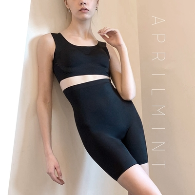 APRIL MINT Los Angeles Miranda Power Shapewear 豐胸露背 翹臀纖腿 吸濕排汗 立體塑型 運動塑身 兩用組合
