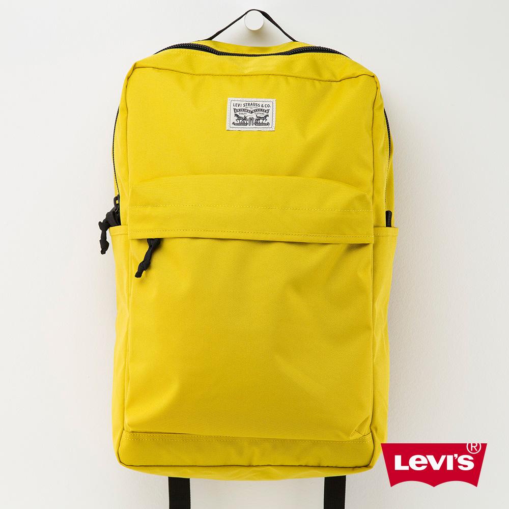 Levis 後背包 雙馬壓印 黃色