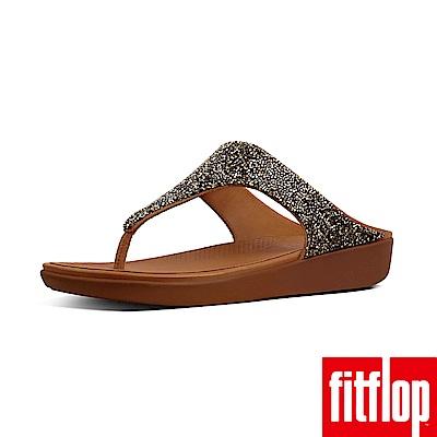 FitFlop BANDA夾腳涼鞋金色