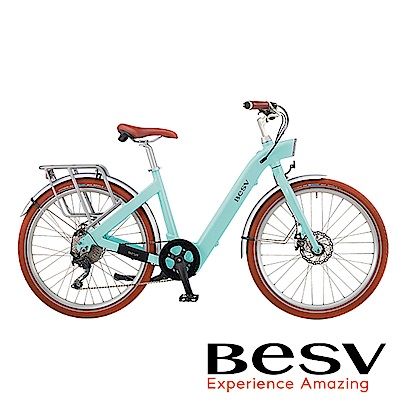 《BESV》CF1-26 SE 智慧動能電動自行車 26吋 Tiffany藍