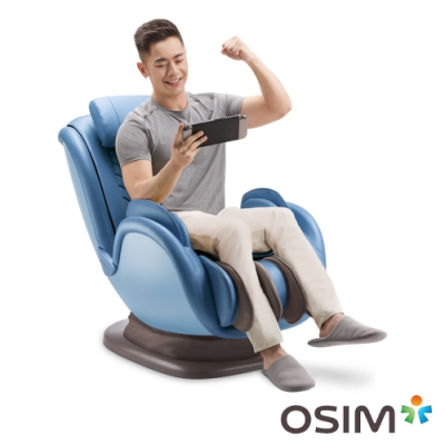 OSIM 音樂花瓣椅 OS-896 藍色 按摩椅/按摩沙發/肩頸按摩