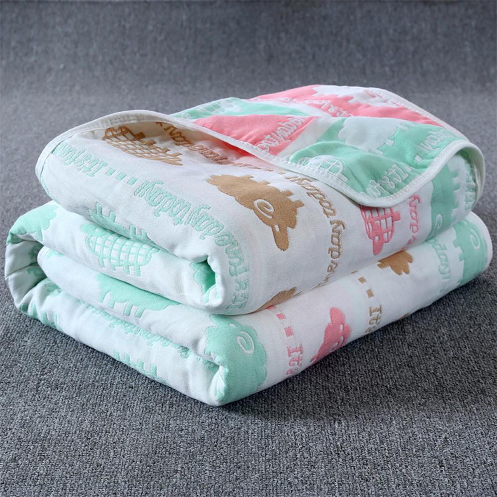 【JOYNA】六層紗多功能全棉紗布巾空調睡毯