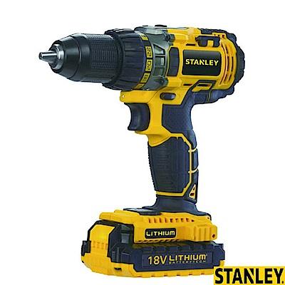 美國 STANLEY 18V 電鑽可調扭起子機STDC411