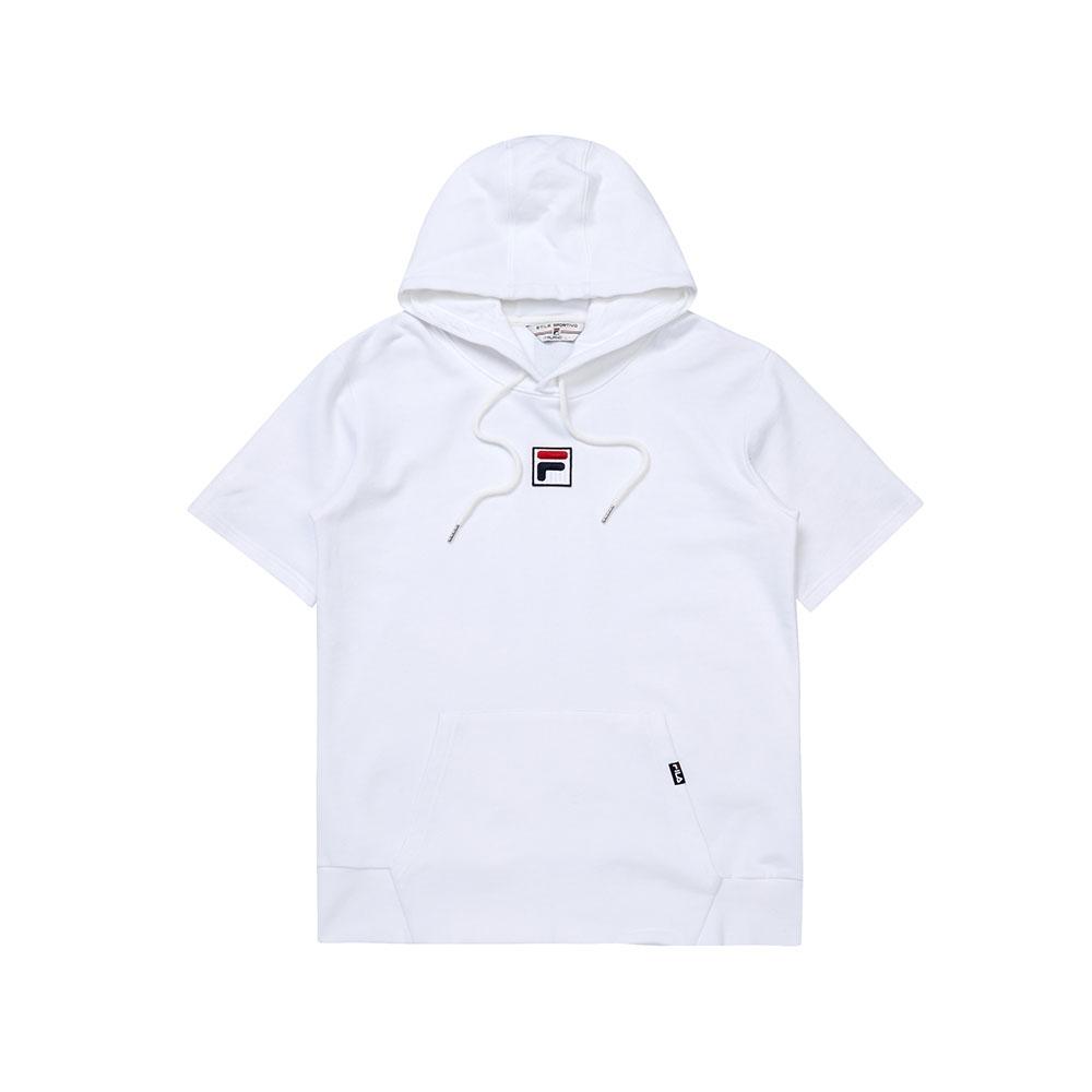 FILA #日潮攻略首部曲 短袖圓領T恤-白色 1TEU-1414-WT