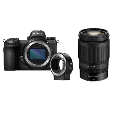 Nikon Z6單機身+FTZ轉接環+ Nikkor Z 24-200mm(公司貨)