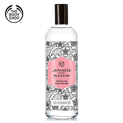 The Body Shop 日本櫻花爽身花露水100ML