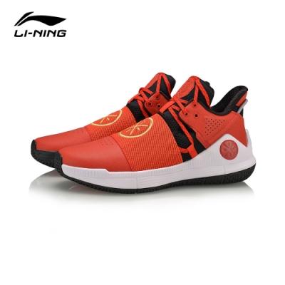 LI-NING 李寧 Wade韋德-影 籃球鞋 熔巖紅標黑 (ABPQ007-1M)