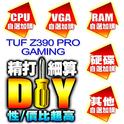 DIY玩家自選-華碩TUF Z390 PRO GAMING