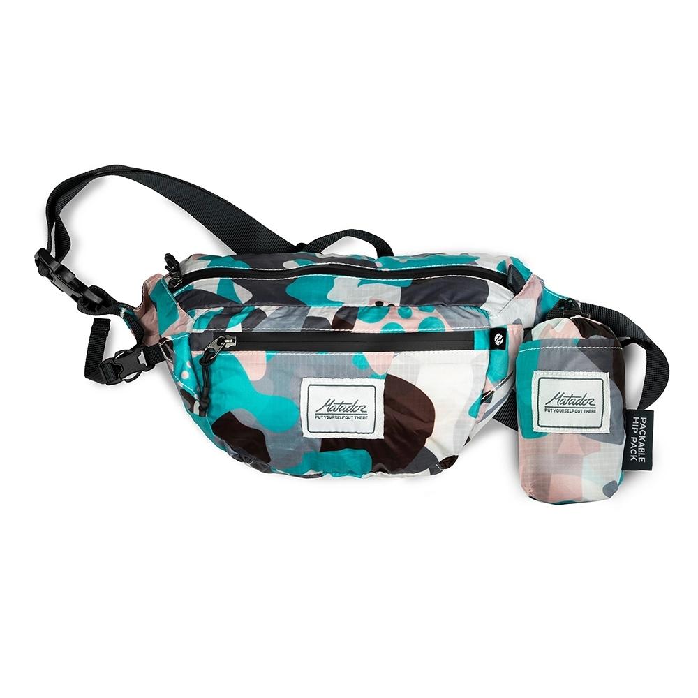 Matador鬥牛士DayLite Packable Hip Pack防水旅行腰包都會彩繪
