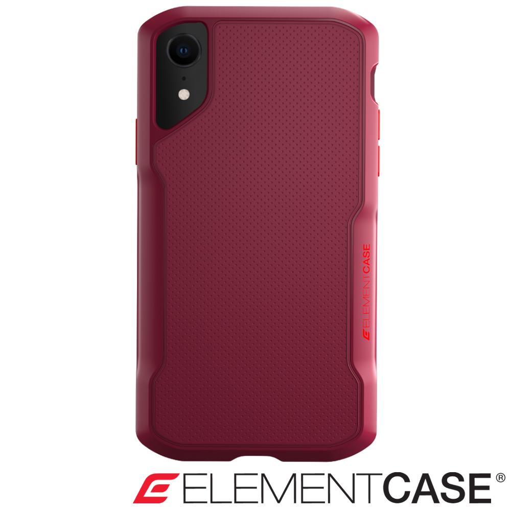 美國 Element Case iPhone XR Shadow 流線手感防摔殼 - 紅