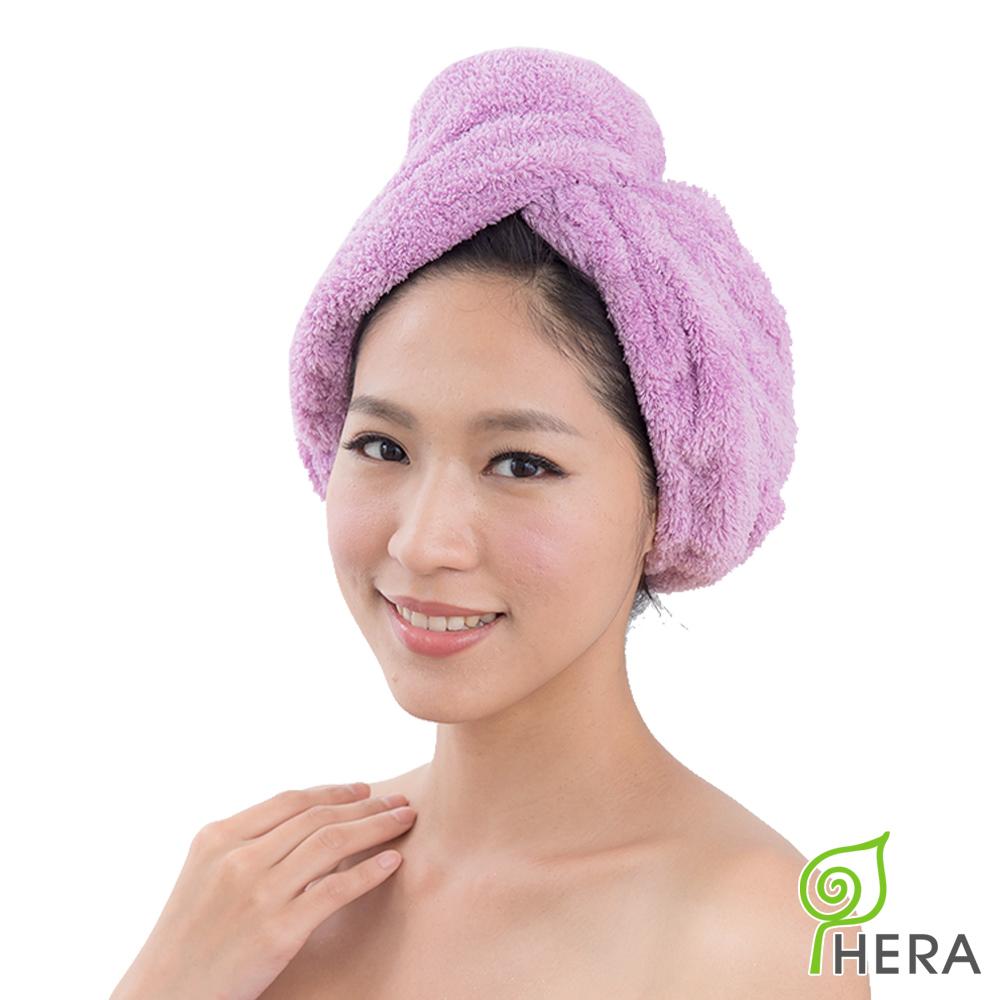HERA 3M專利瞬吸快乾抗菌超柔纖浴帽-薰衣紫