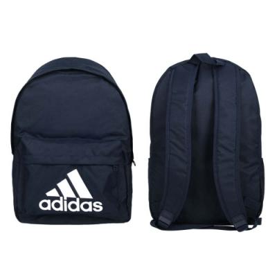 ADIDAS 大型後背包-雙肩包 肩背包 電腦包 15吋筆電 27.5L 愛迪達 FT8762 丈青白