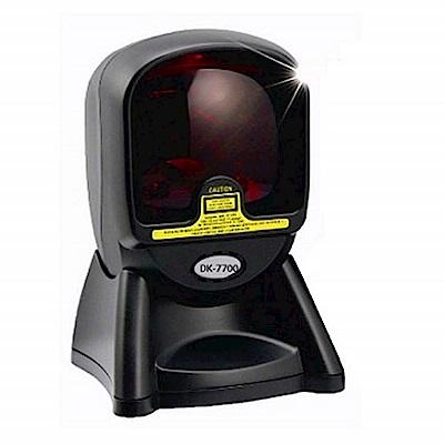 DK-7700專業形象版多向式一維雷射條碼掃描器