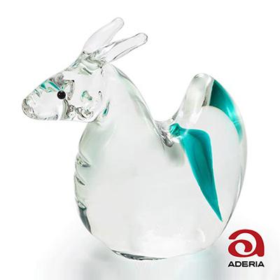 日本Aderia 手作玻璃幸運生肖擺飾-辰(龍)