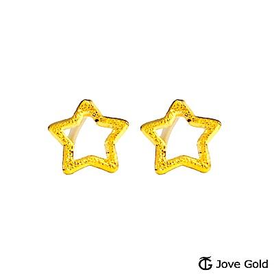 Jove gold 夏夜星空黃金耳環