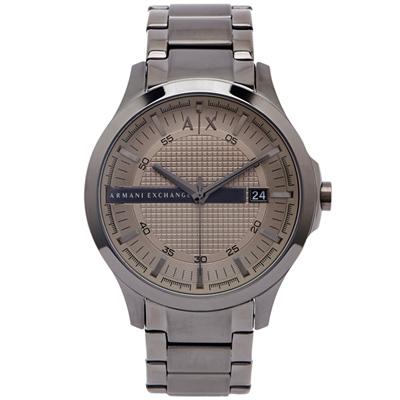 ARMANI EXCHANGE 灰色時尚手錶(AX2194)-淺灰色面/46mm