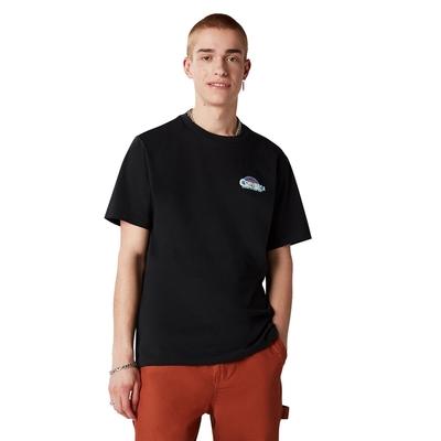 CONVERSE CLASSIC SCRIPT TEE 男 短袖上衣 黑色 10021516-A01