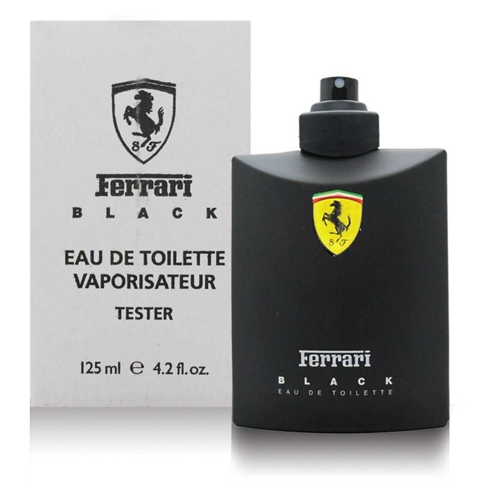 Ferrari 法拉利 黑色法拉利 男性淡香水125ml tester