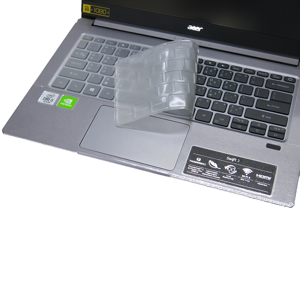 EZstick ACER Swift 3 SF314-57G 奈米銀抗菌 TPU 鍵盤膜