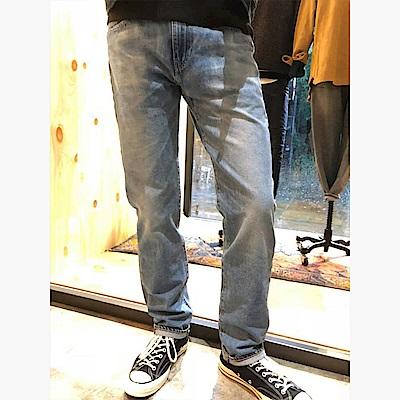 Levis 男款 上寬下窄 502 Taper牛仔長褲 復古洗色 彈性布料