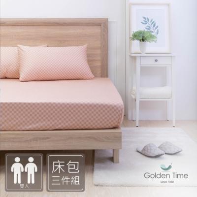 IN HOUSE-清雅路易-200織紗精梳棉三件式床包組(雙人)