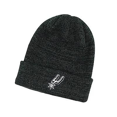 NIKE NBA 反折針織帽 馬刺隊 黑灰色