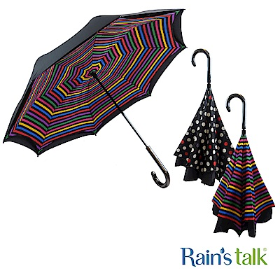 Rains talk 站立式反向傘