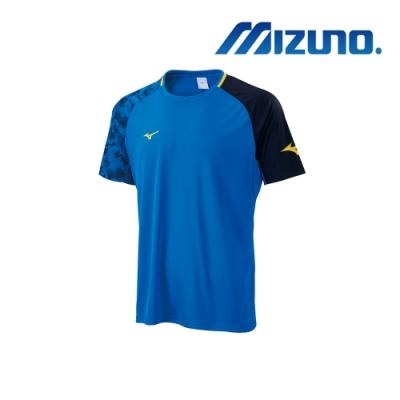 Mizuno 美津濃 男足球短袖T恤 P2TA900121