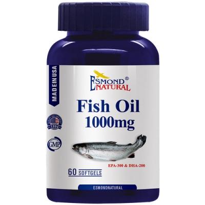 愛司盟 純淨高單位魚油軟膠囊 (60顆/瓶)