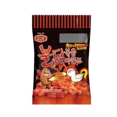 熱銷 韓國杏仁果 Murgerbon 人氣 辣雞炒杏仁 (盒裝/12包)