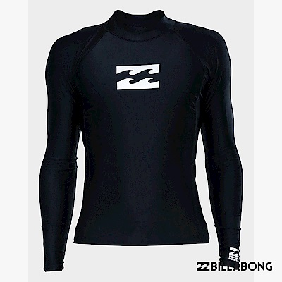 BILLABONG-ALL DAY WAVE PF LS長袖防磨衣-黑