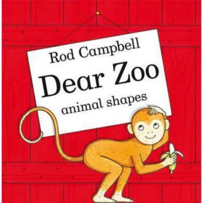 Dear Zoo Animal Shapes 可愛動物園動物形狀硬頁書