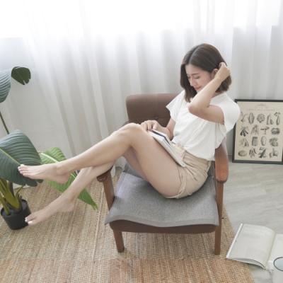 BUHO 3D立體日式止滑藤蓆(灰)一人坐墊55x55cm(1入)