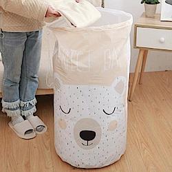 iSFun 素雅防水 大容量棉被衣物收納束口袋 (3色)