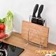 G+居家 304不鏽鋼桌上型菜刀砧板收納架(二格小款) product thumbnail 1