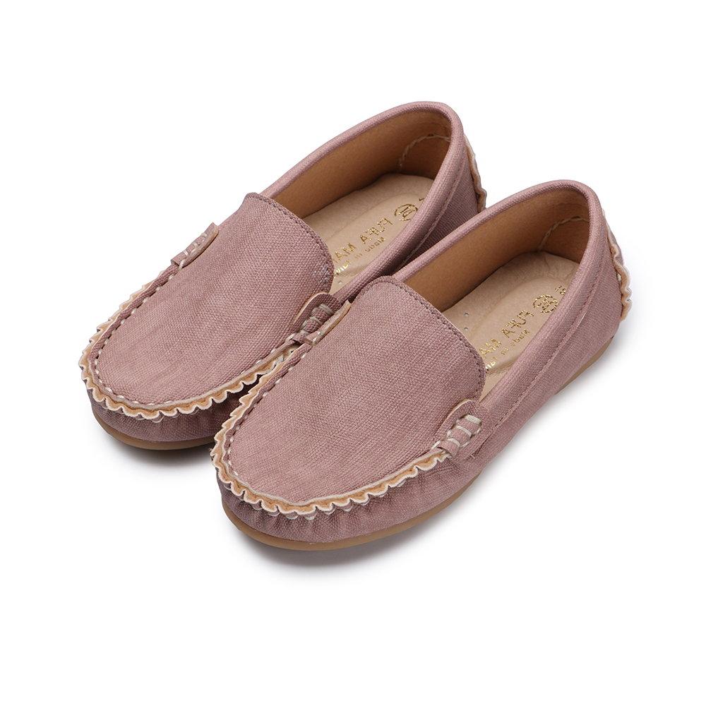 BuyGlasses 輕輕兒童樂福休閒鞋-粉
