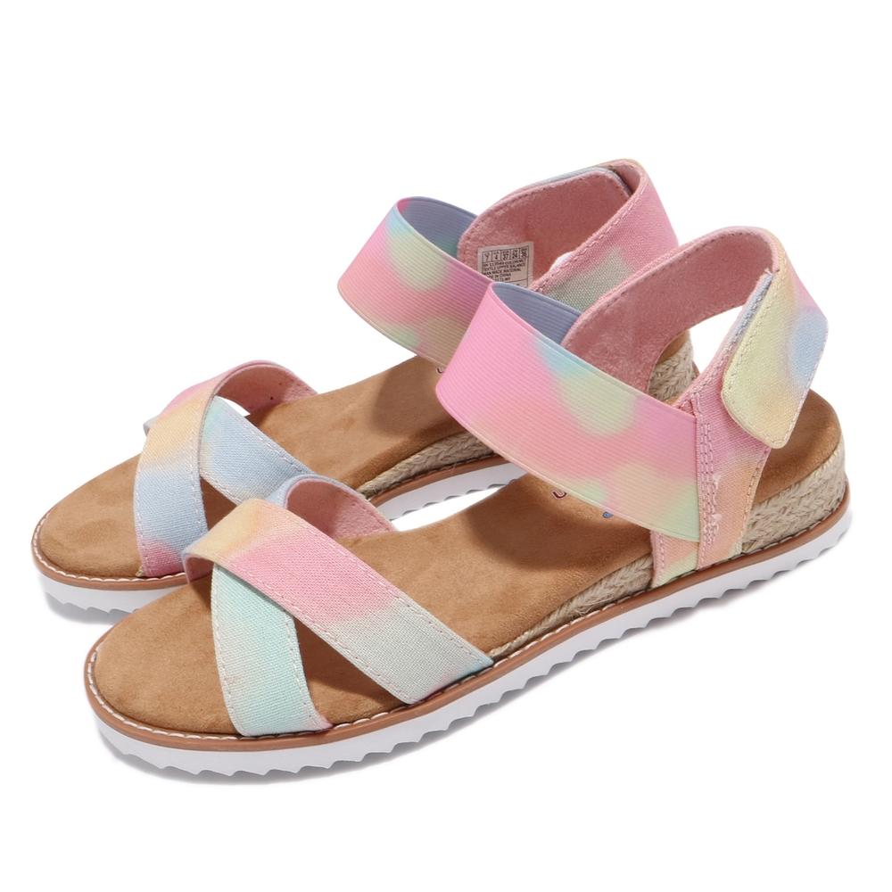 Skechers 涼鞋 Desert Kiss BOBS公益捐贈 女鞋 Sunset Festival 避震 緩衝 彩色 113549MLT