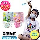【天天兒童防菌醫用口罩】兒童醫療級立體口罩 50入/盒
