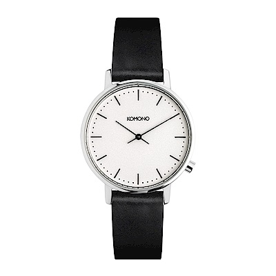 KOMONO Harlow 腕錶-簡約白/36mm
