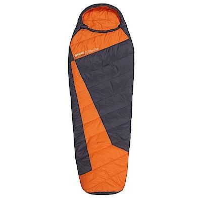 100mountain H306D 中空纖維睡袋 橘/黑、藍/深藍