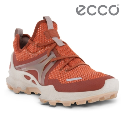 ECCO BIOM C-TRAIL W 縱橫越野健步運動鞋 女鞋 辣椒紅