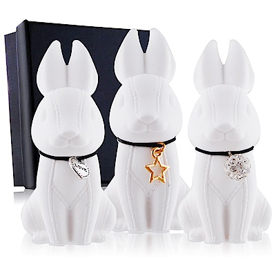 O-Pretty歐沛媞 室內/車用香氛擴香石擺飾-3D縫線兔4.2X8CM多款可選