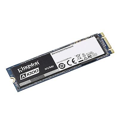 金士頓 A1000 960GB M.2 2280 PCIe NVMe?  SSD 固態硬碟