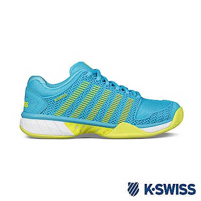 K-SWISS Hypercourt Express輕量網球鞋-女-藍/綠