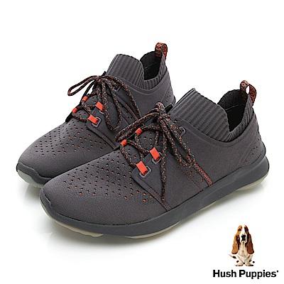 Hush Puppies Bounce Max 高效彈力休閒男鞋-灰色